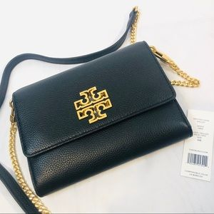 New Tory Burch Britten Chain Crossbody